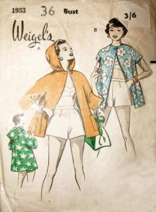 Weigel's beach coat