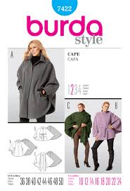 Burda coat sue