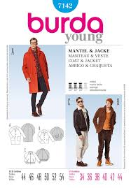 men's coat pattern
