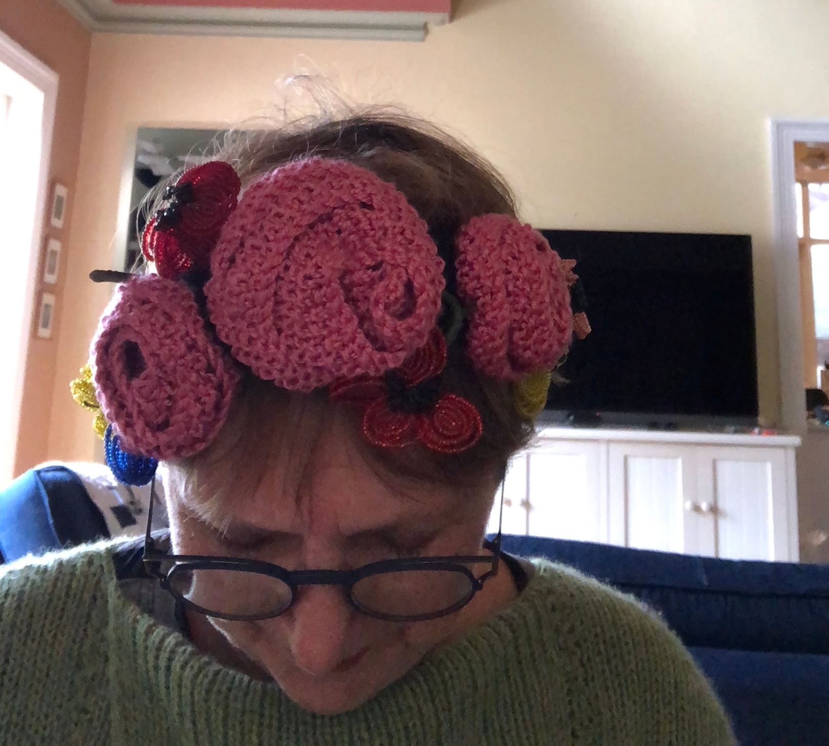 How to make a frida kahlo style flower crown fadanista izmirmasajfo